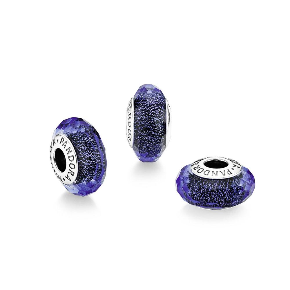 pandora charm murano blu